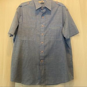 Vintage Kennington button down men's shirt